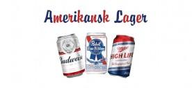 Amerikansk standard lager!