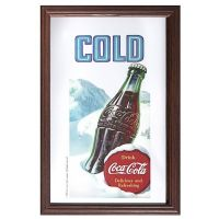 Barspegel Coca Cola Cold 22x32