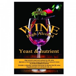 Bulldog Wine Yeast & Nutrient