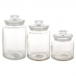 Glasburk Set 3 st