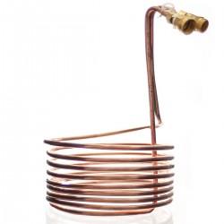 Vörtkylare Spiral Koppar