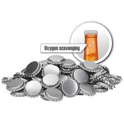 Ölkapsyler Syreabsorberande Silver 250--pack