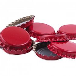 Ölkapsyler Röd 250-pack