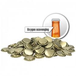 Ölkapsyler Syreabsorberande Guld 70--pack