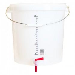 Jäshink med tappkran 30 liter