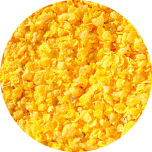 Flaked torrefied Maize