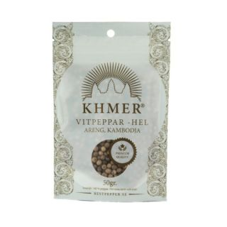 KHMER Vitpeppar Areng 50 gr