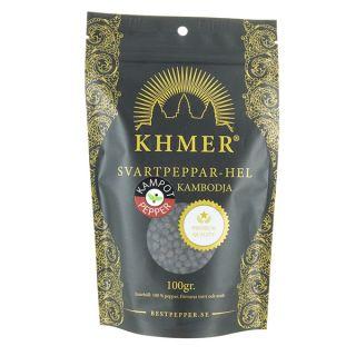 KHMER Kampot Svart 100 gr